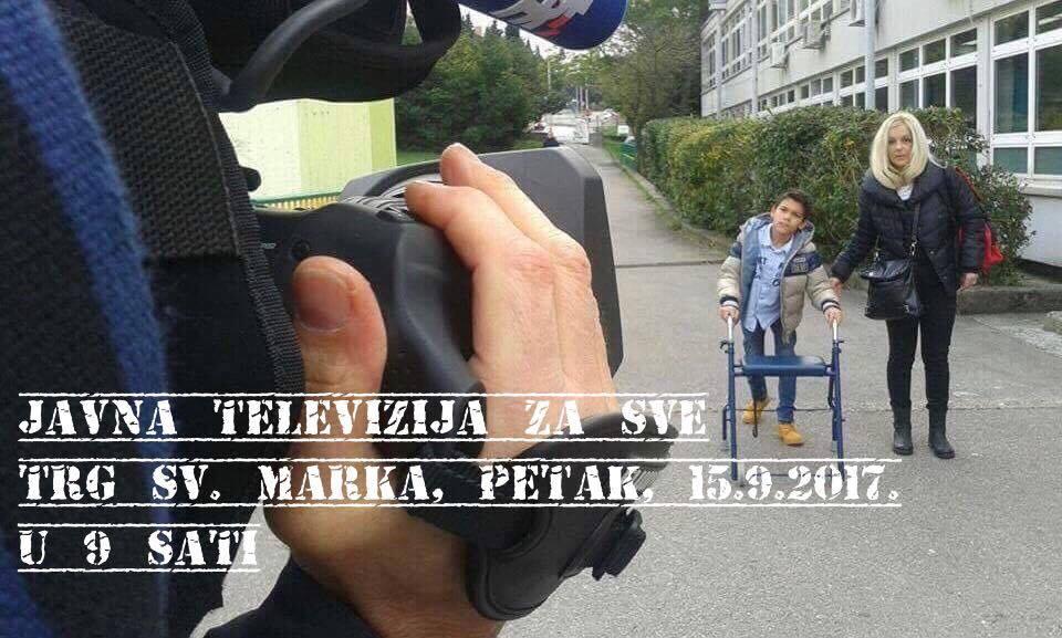 """HND POZIVA NA PROSVJED ZBOG UKIDANJA EMISIJE HTV-A """"HRVATSKA UŽIVO"""""""